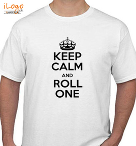 keep calm and roll on - T-Shirt