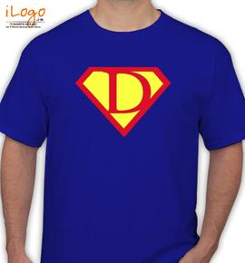 SUPERMAN D - T-Shirt