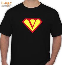 Super Heros SUPERMAN-V T-Shirt