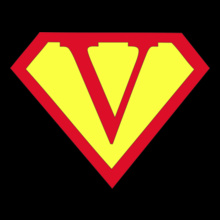 Super Heros SUPERMAN-V T-Shirt