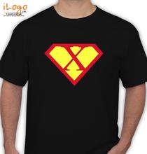 Super Heros SUPERMAN-X T-Shirt