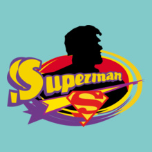 Super Heros SUPERMAN-SS T-Shirt