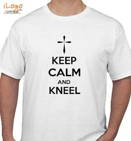 keep calm and kneel - T-Shirt