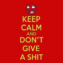 keep-calm-and-dont-give-a-shirt T-Shirt