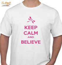 Keep Calm keep-calm-and-belive T-Shirt