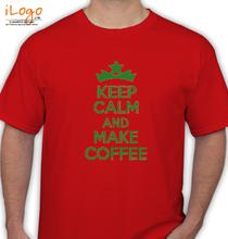 Keep Calm keep-calm-and-make-coffee T-Shirt