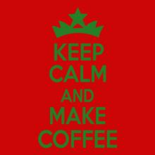 keep-calm-and-make-coffee T-Shirt
