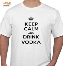Keep Calm KEEP-CALM-AND-drink-vodka T-Shirt