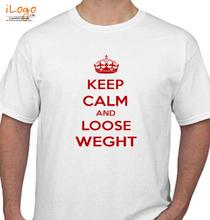 Keep Calm KEEP-CALM-AND-loose-weght T-Shirt