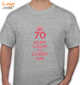 KEEP-CALM-AND-carry - T-Shirt