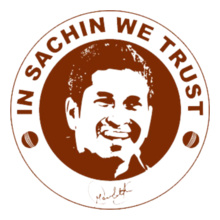 sachin-tendulkar-we-trust T-Shirt