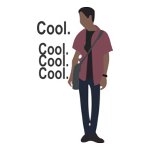 Geek cool-cool T-Shirt