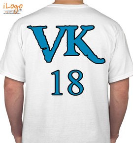 Vk18 Personalized Men's T-Shirt at Best Price [Editable Design] India