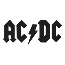 Ac-Dc-Band-Logo-Design- T-Shirt