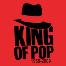 King-Of-Pop-- T-Shirt