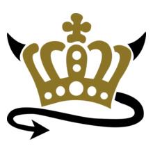 Devil-Queen-King-Koenigin-Koenig-Crown-Krone-T-Shirts T-Shirt