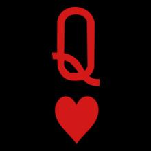 Queen-of-hearts-Women-s-T-Shirts T-Shirt