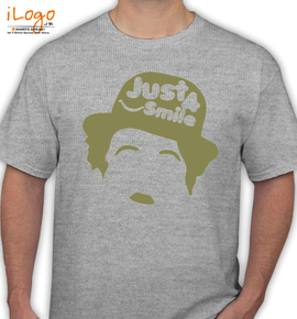 just  smil - T-Shirt