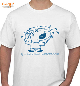i just lost a friend on facebook - T-Shirt