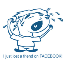 i-just-lost-a-friend-on-facebook T-Shirt
