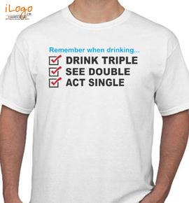 drik trreple - T-Shirt