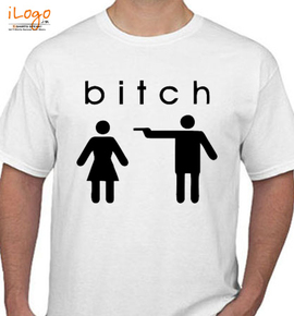 bitch... - T-Shirt