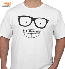 Nerdy Smile Tee - T-Shirt
