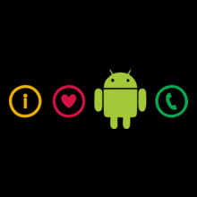 I-Love-Android-Phone-Tee T-Shirt