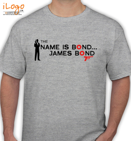 the name is bond - T-Shirt