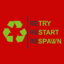 retary-restart-respawn T-Shirt