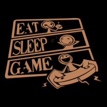 eat-sleep-game T-Shirt