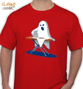 Ironing Death - T-Shirt
