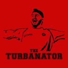 harbhajan-singh-turbanator T-Shirt