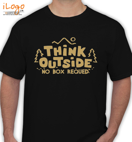 THINK OUTSIDE - T-Shirt