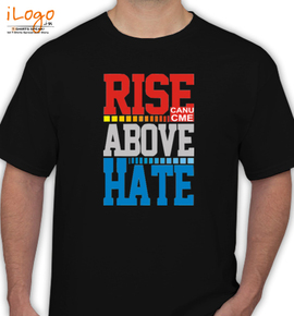 ABOVE HATE - T-Shirt