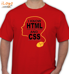 i know hitml and css - T-Shirt