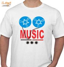 Rock music%C%C%C T-Shirt