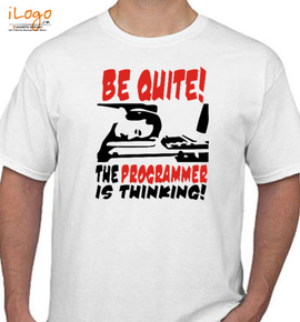 the programmer is thinking - T-Shirt