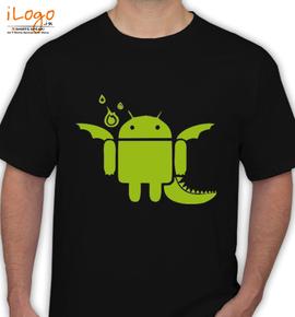 Android Dragon - T-Shirt