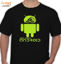 Funny Android-India-Version T-Shirt