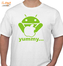 Rock Android-Yummy T-Shirt
