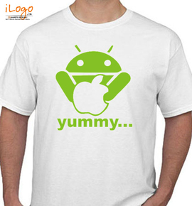 Android Yummy - T-Shirt