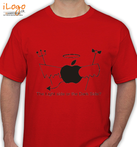 Apple Side - T-Shirt
