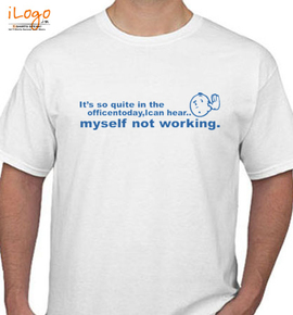 Hardly Working - T-Shirt