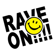 rave-on-smiley-face-rave T-Shirt