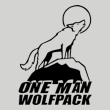 one-man-wolf-pack T-Shirt