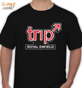 Trip Royal Enfiled - T-Shirt