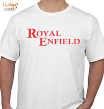 Biker ROYAL-ENFIELD-BULLET-LOGO T-Shirt