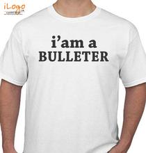 Biker ROYAL-ENFIELD-BULLET-MANIA T-Shirt