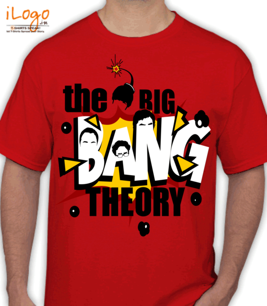 red the big bang theory!:front